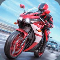 تحميل لعبة Racing Fever: Moto مهكرة للاندرويد 1