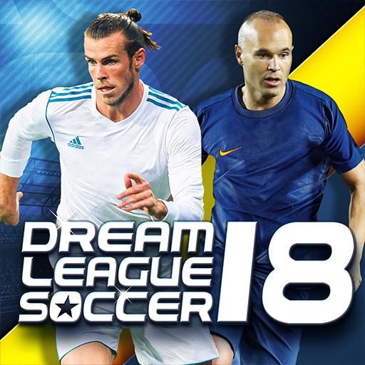 لعبة Dream League Soccer 2018 مهكرة للاندرويد