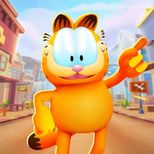 تحميل لعبة Garfield Run مهكرة للاندرويد