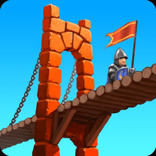 تحميل Bridge Constructor Medieval مدفوعة مهكرة للاندرويد