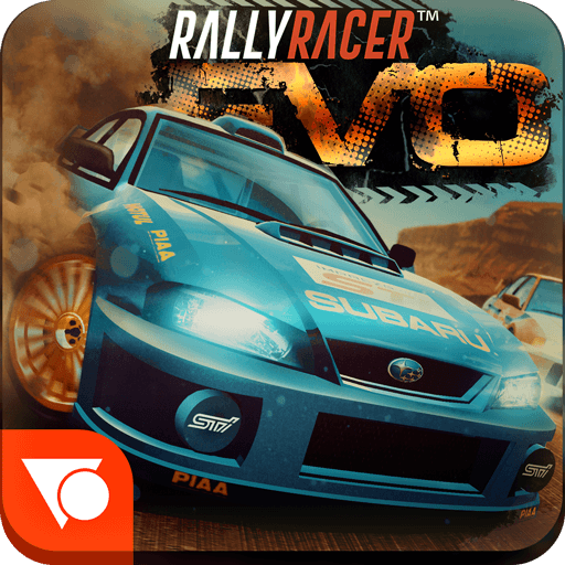 تحميل لعبة Rally Racer EVO مهكرة للاندرويد