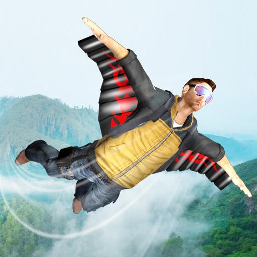 تحميل لعبة WingSuit Simulator 3D مهكرة للاندرويد