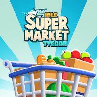 تحميل لعبة idle supermarket tycoon مهكرة