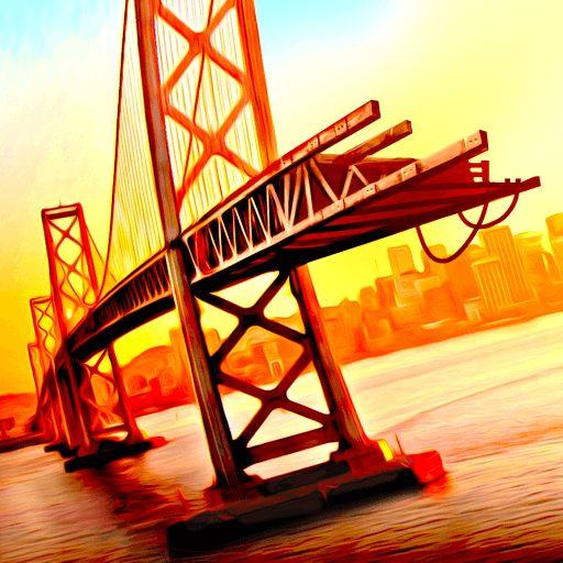 Bridge Construction Simulator مهكرة