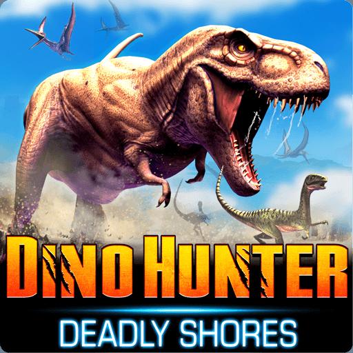 تحميل لعبة Dino Hunter مهكرة للاندرويد