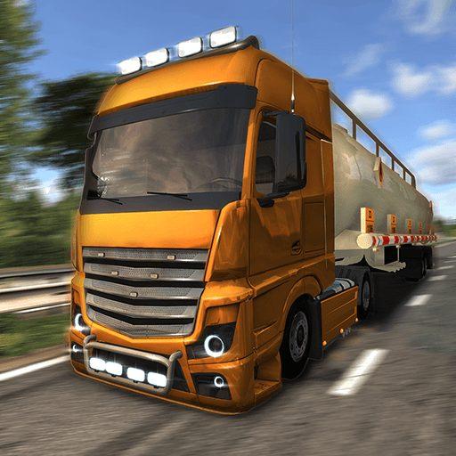 تحميل لعبة Euro Truck Driver مهكرة للاندرويد