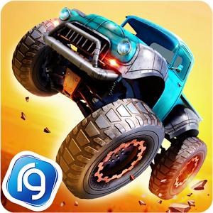 تحميل لعبة Monster Trucks Racing مهكرة للاندرويد