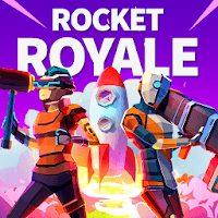 تحميل لعبة Rocket Royale مهكرة للاندرويد