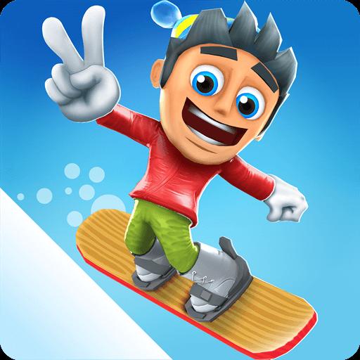 تحميل لعبة Ski Safari 2 مهكرة للاندرويد 9