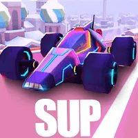 تحميل لعبة SUP Multiplayer Racing مهكرة للاندرويد