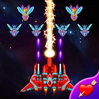 لعبة galaxy attack: alien shooter مهكرة للاندرويد