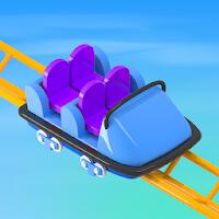 تحميل لعبة Idle Roller Coaster مهكرة للاندرويد 4