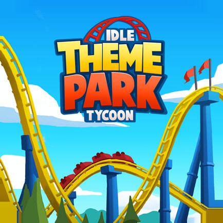 لعبة Idle Theme Park Tycoon مهكرة للاندرويد