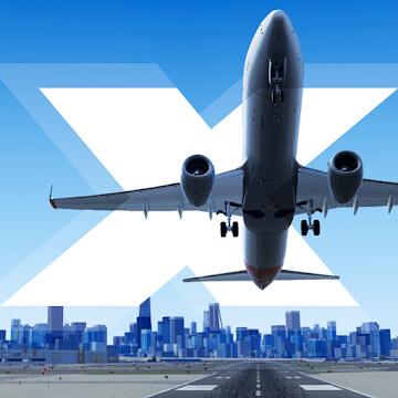 تحميل لعبة X-Plane Flight Simulator مهكرة للاندرويد