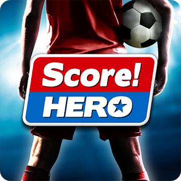 تحميل لعبة Score Hero مهكرة للاندرويد