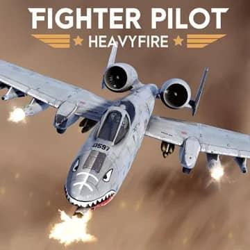 تحميل Fighter Pilot Heavy Fire مهكرة للاندرويد