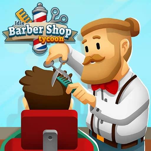 تحميل لعبة Idle Barber Shop Tycoon مهكرة | أبك بلاي