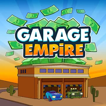 تحميل لعبة Garage Empire مهكرة للاندرويد