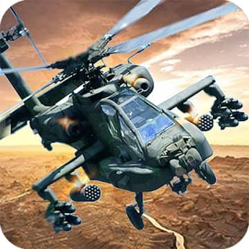 تحميل لعبة Gunship Strike 3D مهكرة للاندرويد