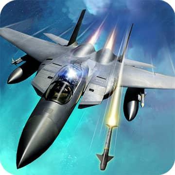 تحميل لعبة Sky Fighters 3D مهكرة للاندرويد