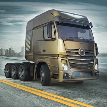 تحميل لعبة Truck World Euro American Tour مهكرة للاندرويد