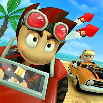 تحميل لعبة Beach Buggy Racing مهكرة للاندرويد